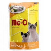 Buy Me-O Adult Cat Food in Jelly (Mackerel) (80 gm x 12 Pouches),  at B